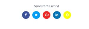 G4 – Social Media Links